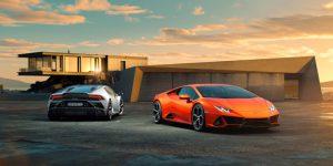 2020 Lamborghini Huracan Evo với phiên bản V10 mạnh mẽ