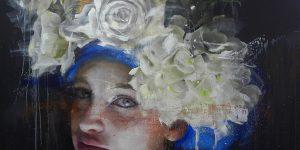 """Họa sĩ Roberta Coni và """"những khuôn mặt quay ra khỏi vùng tối"""""""