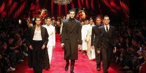 Dolce&Gabbana đưa tranh La Mã lên trang phục nam Thu Đông 2019