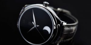 H.Moser & Cie Endeavour Perpetual Moon Concept: Bóng đêm vô cực