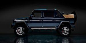 Drake sắm siêu xe Mercedes-Maybach G 650 Landaulet