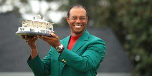 Rolex Deepsea D-Blue xuất hiện trên tay Tiger Woods sau chiến thắng Masters thứ 5