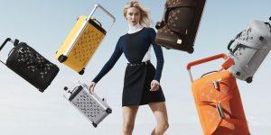 Bộ sưu tập vali thời thượng của Louis Vuitton hợp tác cùng Marc Newson