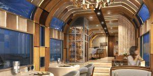 Du lịch trên những chuyến tàu xa xỉ: Lựa chọn đích thực của giới thượng lưu