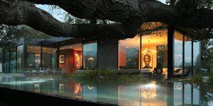 """Biệt thự hiện đại giá 32 triệu đô ở Los Angeles """"lộn ngược"""" cùng thiên nhiên"""