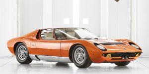 Lamborghini hồi sinh chiếc Miura, một huyền thoại rực rỡ trong bộ phim The Italian Job