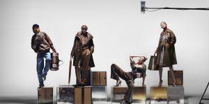 Monogram Burberry, Riccardo Tisci và Gigi Hadid: Nàng thơ và chàng nghệ sĩ tài ba