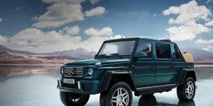 Phiên bản Mercedes G-Wagen triệu đô đặc biệt của rapper Drake