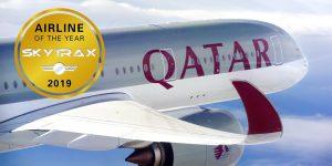 Qatar Airways là hãng hàng không tốt nhất năm 2019