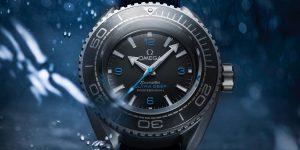 Omega Seamaster xác lập kỷ lục đồng hồ lặn