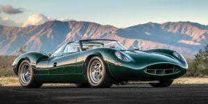 Đấu giá Jaguar XJ13 bản phục chế 7 triệu bảng