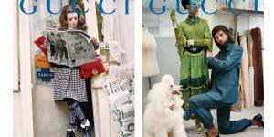 Gucci tôn vinh 4 kỷ nguyên ngông cuồng của thời trang ứng dụng