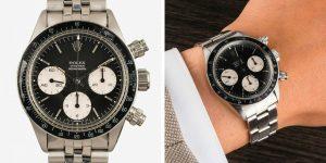 Hàng loạt Rolex cổ xuất hiện khuấy đảo sàn đấu giá đồng hồ trực tuyến