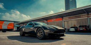 Aston Martin DB11 thứ 5 trị giá hơn 16 tỷ cập bến Việt Nam
