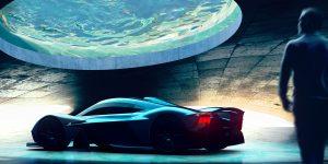 Aston Martin thiết kế gara trong mơ cho những siêu xe
