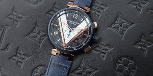 Editor's pick: Đồng hồ Louis Vuitton Tambour phiên bản họa tiết canvas