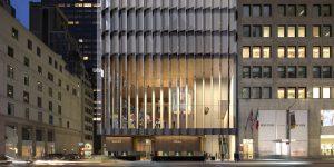 Bên trong văn phòng Rolex New York qua ý tưởng của David Chipperfield