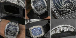 Đồng hồ Richard Mille 19,5 tỷ bị cướp táo bạo giữa lòng Paris