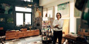 Họa sĩ Nguyễn Văn Hảo: Người chuyên chở ký ức vào những tác phẩm tranh