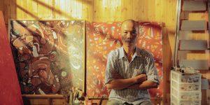 Họa sĩ Nguyễn Chí Long: Cái duyên với tranh Trừu tượng