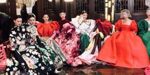 Có một Valentino lụa là gấm vóc tại Bắc Kinh