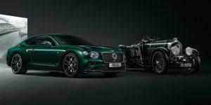 Cận cảnh Bentley Continental GT Number 9 màu xanh British Racing Green