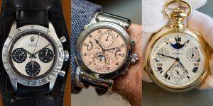 Sự điên rồ của những gã tỷ phú: Điểm lại 3 chiếc đồng hồ đắt nhất từng được bán đấu giá
