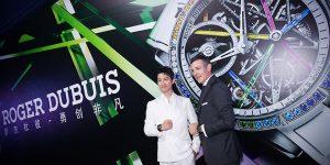 """Roger Dubuis Blacklight """"Rainbow"""" xuất hiện rực rỡ tại Thượng Hải"""