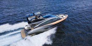 Lexus sản xuất du thuyền Lexus LY 650: Thẩm mỹ Ý, hiệu năng Nhật