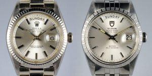 Rolex vs Tudor: Truyền kỳ về những chiếc Day-Date cổ