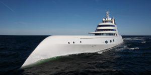 Motor Yacht A và cuộc gặp gỡ nhà thiết kế huyền thoại Philippe Starck