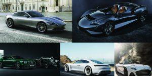 5 mẫu siêu xe khiến giới nhà giàu khao khát sở hữu trong năm 2020