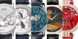 8 mẫu đồng hồ mang hình chuột đặc sắc chào đón năm Canh Tý