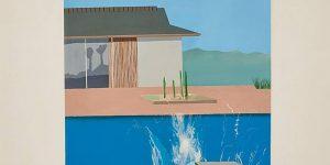 """Bức họa """"The Splash"""" của David Hockey có thể đạt 40 triệu USD tại Sotheby's London"""