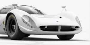 Ferrari 330 P4 tạo cuộc đua mới với Ford trong thiết kế trắng bất tử