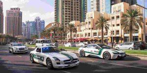 Chiêm ngưỡng loạt siêu xe của cảnh sát Dubai