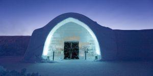 Checking-in: Qua đêm trong không gian băng nghệ thuật biến đổi tại Thụy Điển