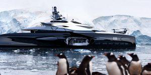 Du thuyền mới nhất Centauro của Officina Armare: Đẹp như đến từ thế giới khác