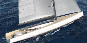ECOXURY: Siêu du thuyền tương lai sẽ hoạt động hoàn toàn bằng gió?