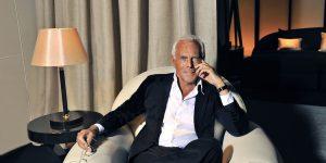Giorgio Armani quyên góp 1,25 triệu euro cho cuộc chiến đẩy lùi dịch virus Corona