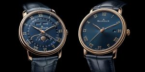 Blancpain Villeret Ultraplate 6651: Cơn sốt mặt số màu xanh nửa đêm