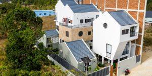Căn hộ Michelia, Phú Quốc: Nét đẹp tối giản của 5 khối nhà mang cảm hứng Thụy Sĩ