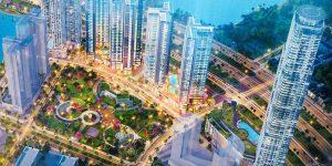 Cận cảnh biểu tượng khách sạn và căn hộ cao cấp 69 tầng Eco Green Sài Gòn