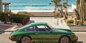 Bốc thăm trúng thưởng Porsche 911 gắn động cơ Tesla Model S