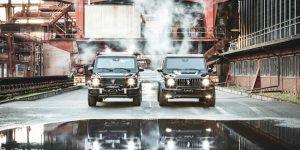 Brabus Mercedes Benz G63 Armoured SUV: Siêu xe chống đạn hộ tống các tỷ phú đến hầm trú ẩn