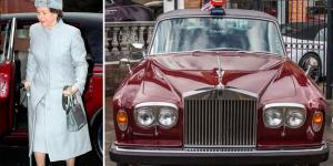 Công chúa Margaret và chiếc Rolls-Royce màu đỏ yêu thích được sản xuất  riêng