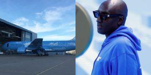 Máy bay của Virgil Abloh thiết kế cho rapper tỷ phú Drake có gì đặc biệt?