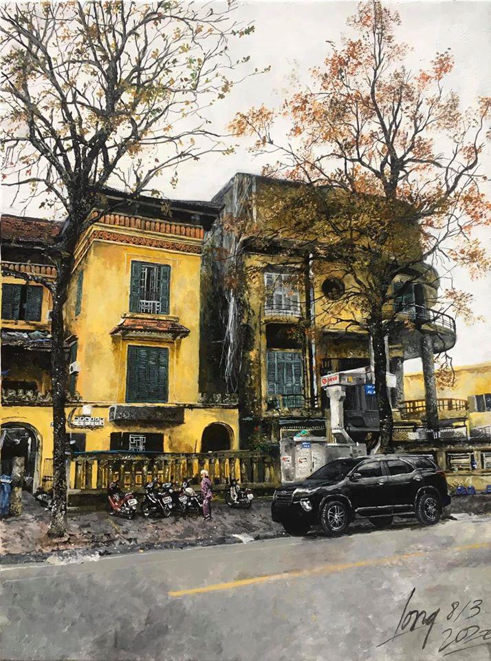 Một bức tranh của của Trần Nam Long, 15 tuổi