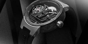 Đồng hồ Tambour Curve Flying Tourbillon: Louis Vuitton tiến xa hơn trong kỹ thuật chế tác đồng hồ