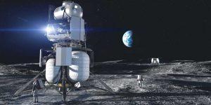 """Elon Musk và Jeff Bezos cạnh tranh để """"lọt mắt xanh"""" NASA"""